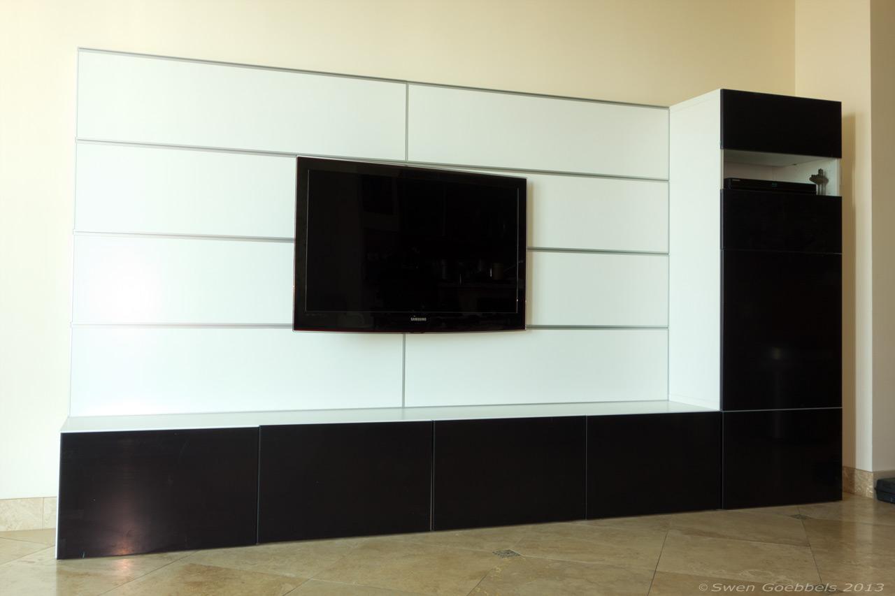 ikea wandregal fernseher inspirierendes design f r wohnm bel. Black Bedroom Furniture Sets. Home Design Ideas